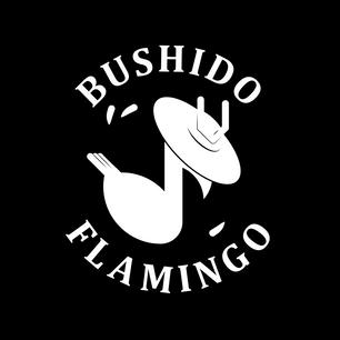 Bushido Flamingo - Logo and Cover