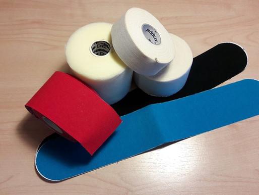 Nastri e salva pelle / taping kinesio
