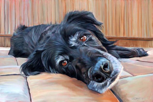 Handmade Dog Portrait