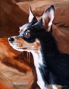 Dog Portrait | BFF Pet Paintings