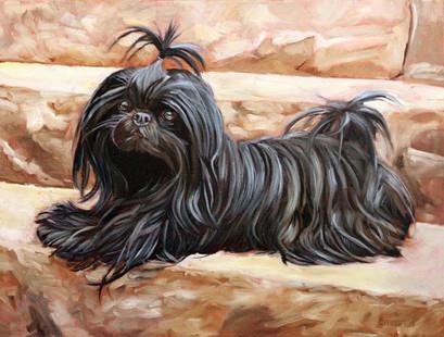 Houston Dog Painting