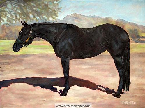 "30""x40"" custom oil painting starting at $1,950"