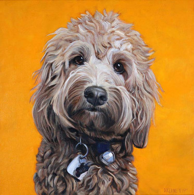 Custom Dog Portrait NY