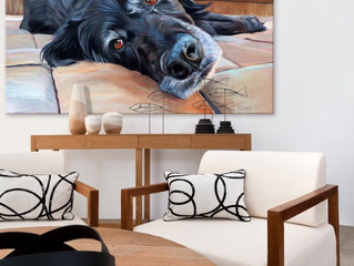 My paintings are now featured on Houzz