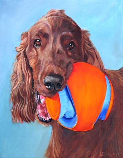 Custom Dog Painting San Francisco