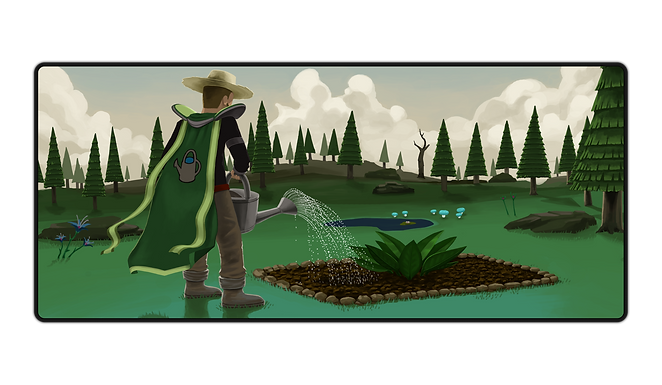 Farming Gaming Mousepad (PREORDER)