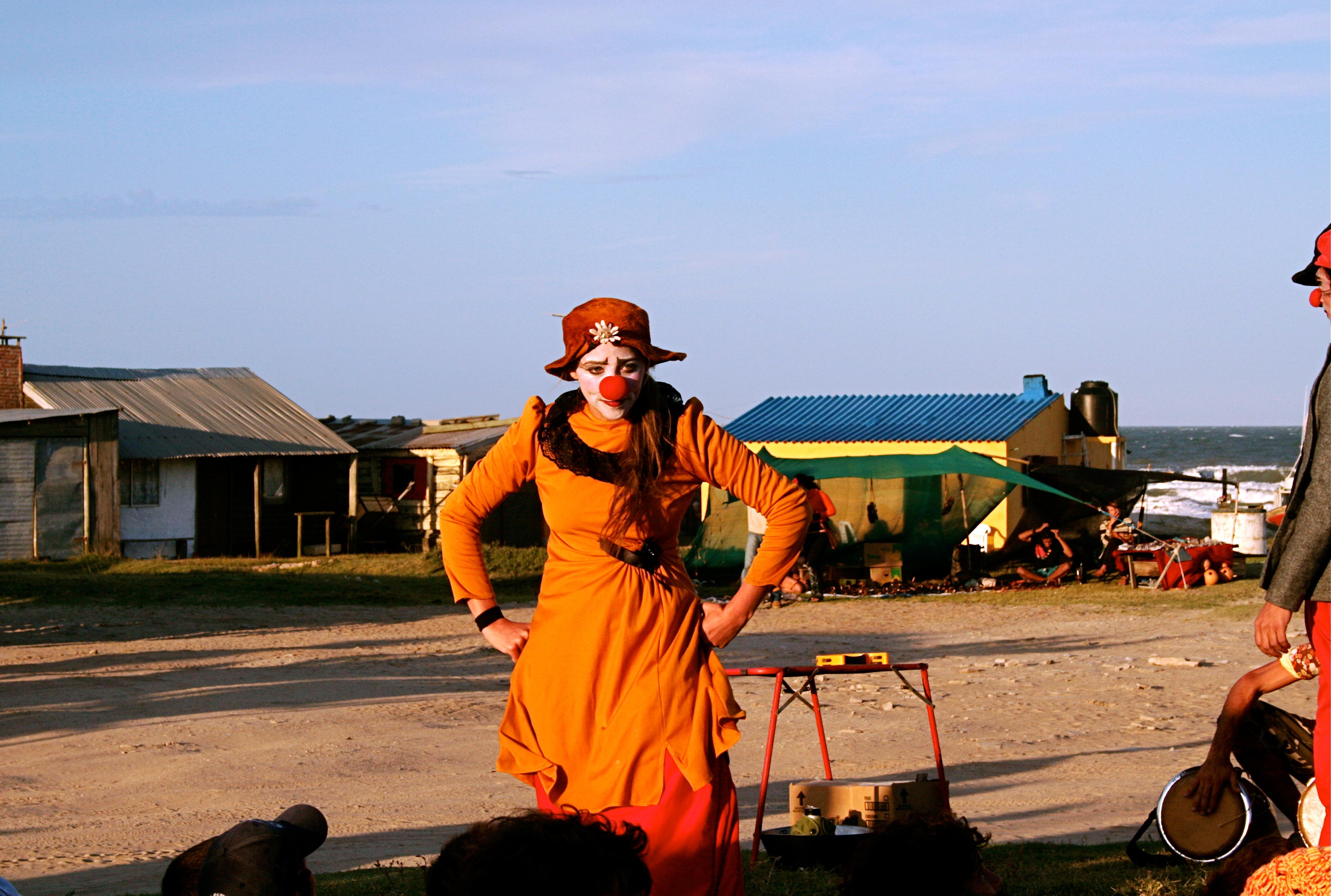 Clown au Cabo(Uruguay) ©daniel di li