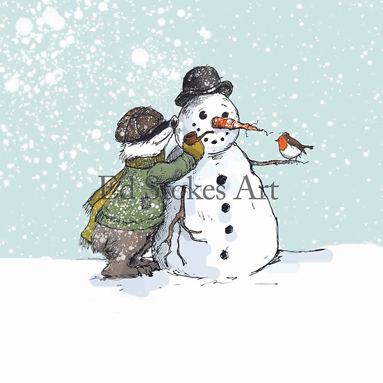 Badger and the Snowman