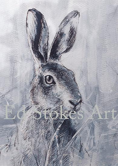 Jill (Female Hare) Card
