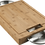 Thumbnail: Napoleon Pro Cutting Board w/ Stainless Steel Bowls