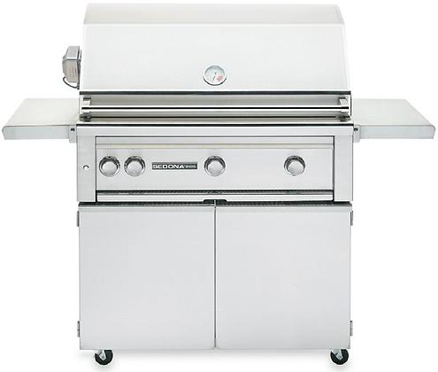 Sedona 36″ Freestanding Grill – L600PSFR LP/NG