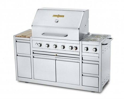 """Crown Verity Island Grill – 36"""" (EE-36I) LP/NG"""