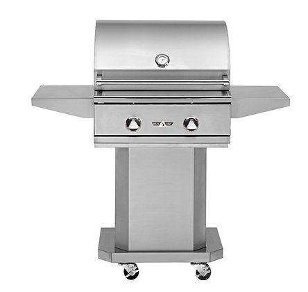 Delta Heat 26″ Grill with base – DHBQ26G-D LP/NG