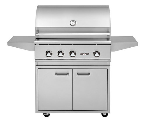 Delta Heat 32″ with grill base – DHBQ32R-D LP/NG