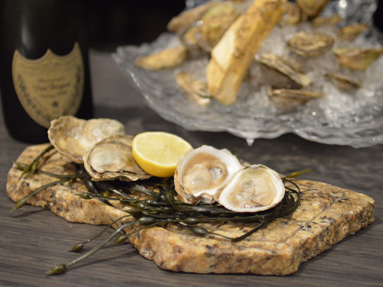 Rodney's Oysters Platter Dom Perignon