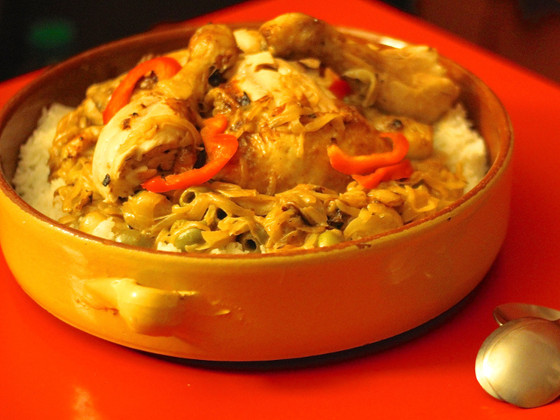 West African Chicken Yassa Recipe