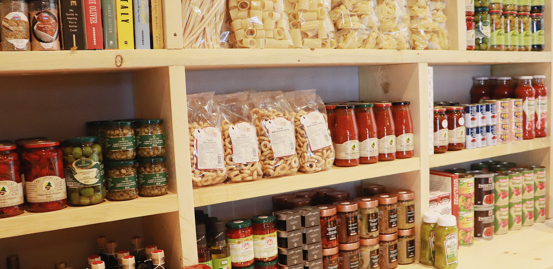 Dry goods and preserves