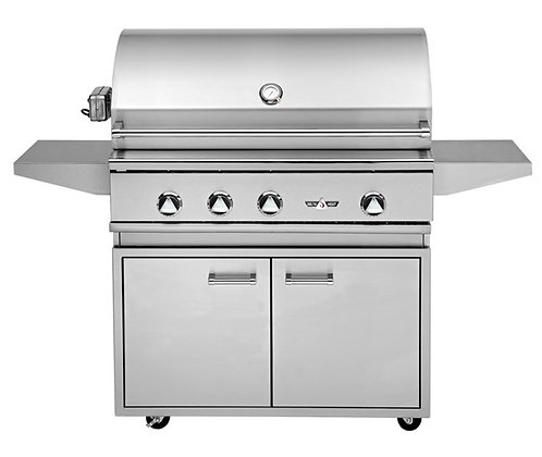 Delta Heat 38″ with grill base – DHBQ38R-D LP/NG