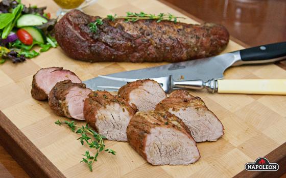 Pork Maple Planked Pork Tenderloin
