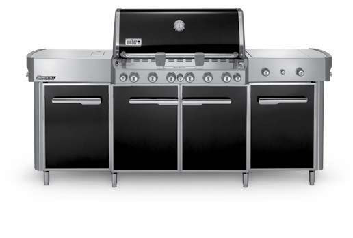 Weber Summit Grill Center-Black LP #291101