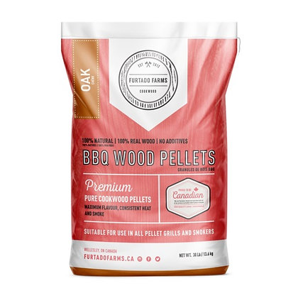 OAK COOKWOOD PELLETS