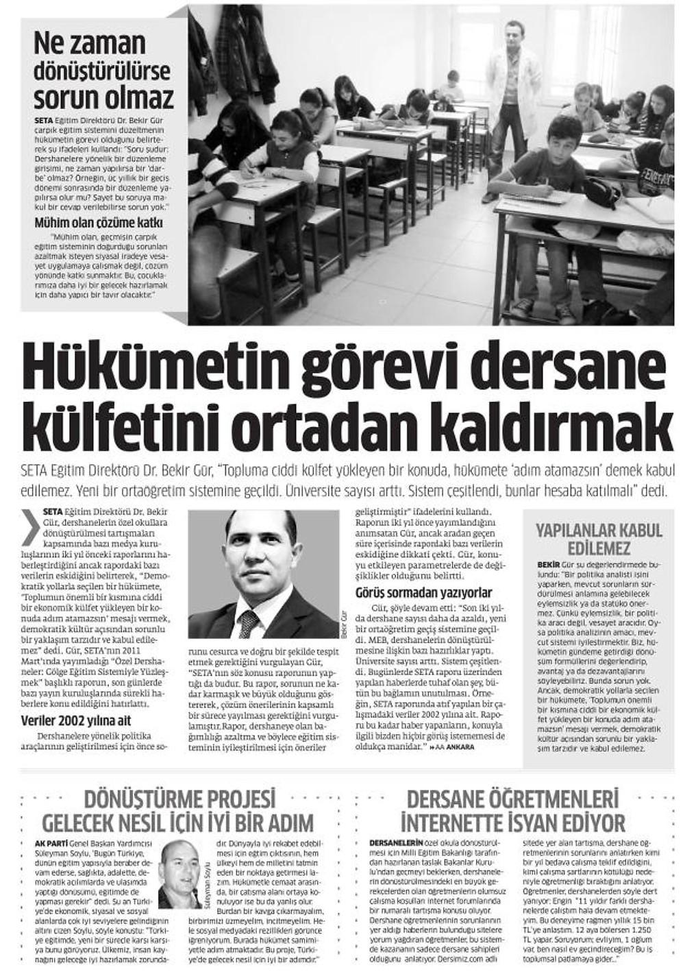 Dr. Bekir S. Gür, Star