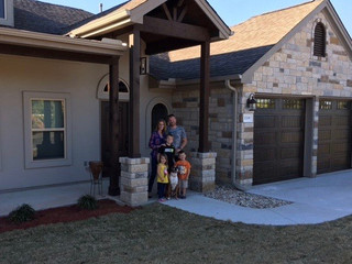 A Happy Family Moves Into Their New Vista Verde Home
