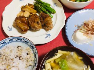 きょうの晩御飯