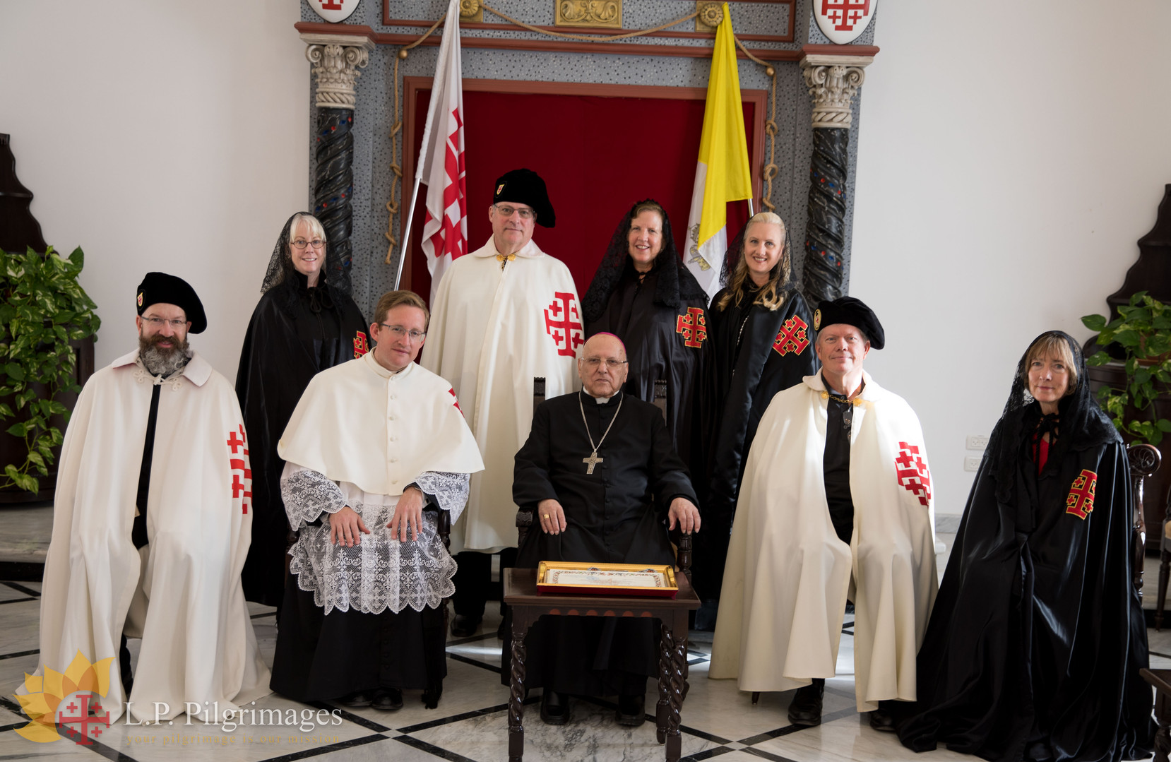With H.B. Patriarch Michel Sabbah