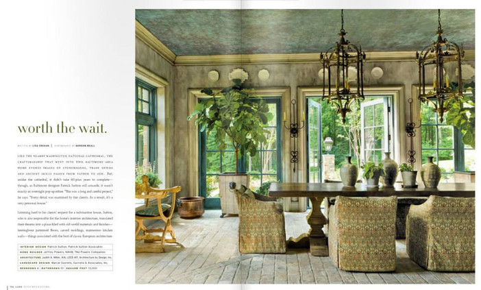 Luxe Magazine - Designer: Patrick Sutton