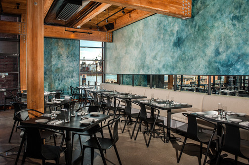 The Scout Guide Baltimore Annapolis - Feast Your Eyes On Restaurant Interiors By Artstar Custom Paintworks