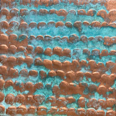 Copper Fish Scale