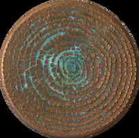 Bronze Patina Dahlia