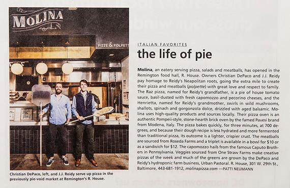 Baltimore Style Magazine - The life of pie