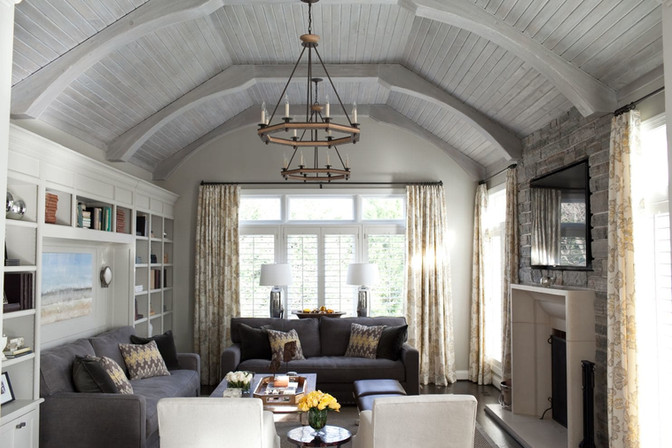 Washington Post - How to make a design statement with the 'fifth wall': Your ceiling