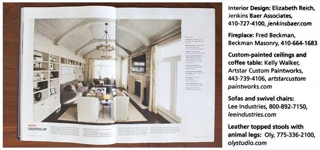 Baltimore Style Magazine - Designer: Elizabeth Reich