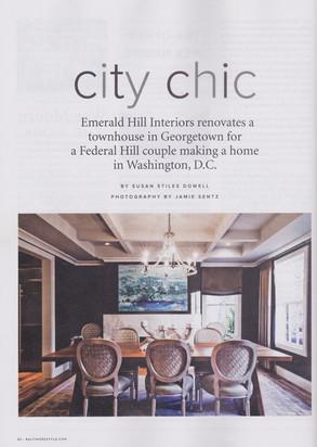 Baltimore Style Magazine - City Chic