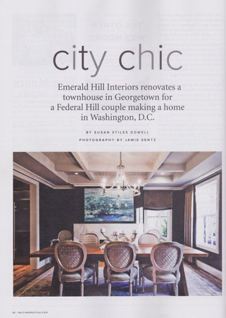 Baltimore Style Magazine - City Chic