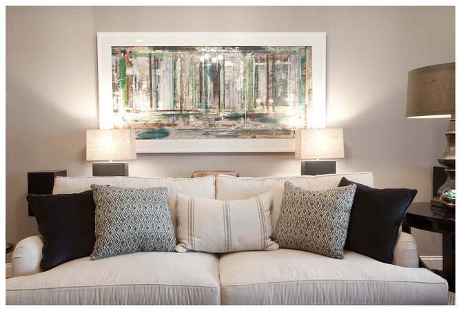 Jamie D Photography: Elizabeth Reich, Kelly Walker painting featured