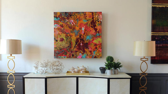 """""""Diatribe"""" at """"All American House"""" show home at Carroll Mansion"""