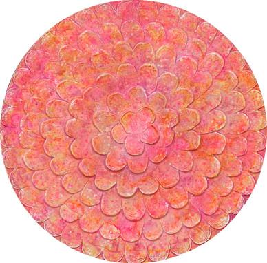 Zinnia Pink Bloom