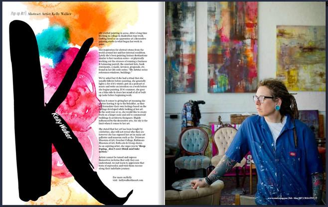 CREATIV Magazine - Discovered Talents