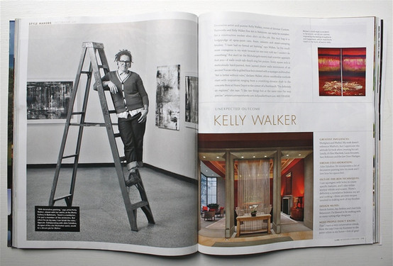Luxe Magazine - Unexpected Outcome: Kelly Walker