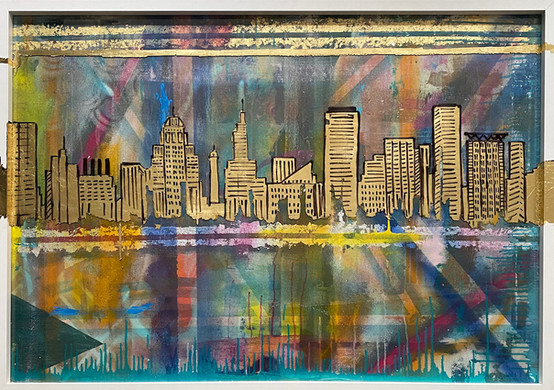 Baltimore Skyline - 1