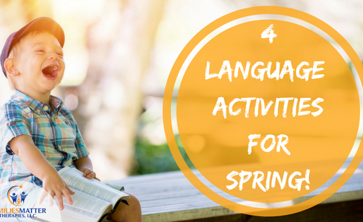 Spring is in the Air!: 4 Language Activities for Spring