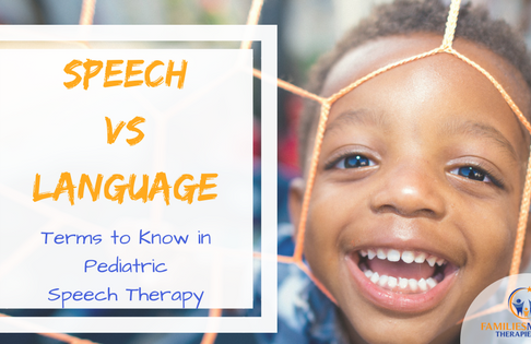 Speech versus Language: Terms to Know in Pediatric Speech Therapy