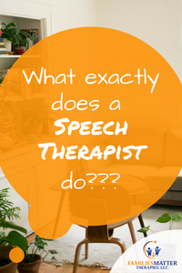 What exactly does a Speech Therapist Do?: The Role of the SLP.