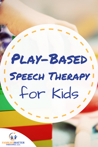 Learn how play enhances your child's speech therapy.
