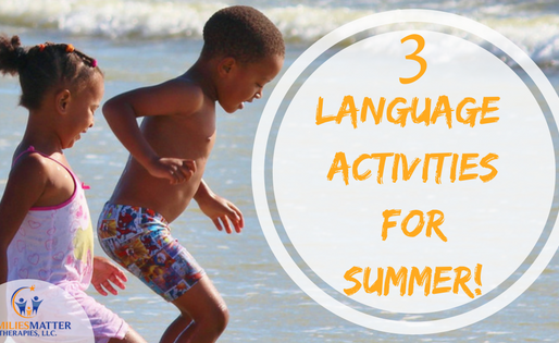3 Language Activities for Summer!