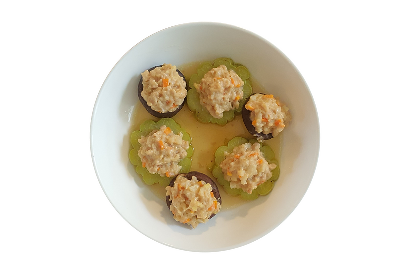 Stuffed Gourds and Shrooms
